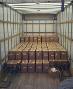 Truckload of tracts