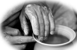 potter's hands